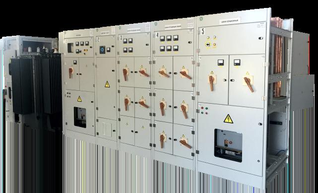 Подстанции внутренней установки КТПВУ